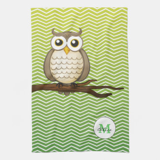 Personalizable Wise Owl | KitchenTowel Towels