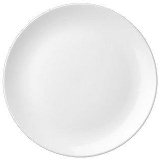"""Personalizado 10,75"""" placa decorativa de la porcel plato de cerámica"""