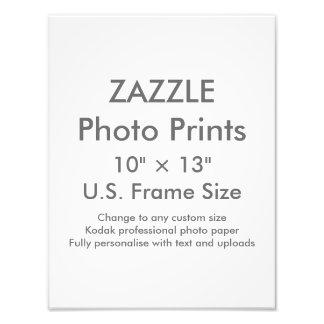"""Personalizado 10"""" de Zazzle × 13"""" impresión de la Cojinete"""