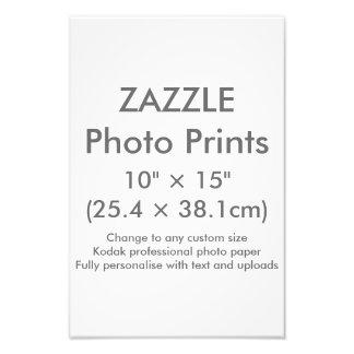 """Personalizado 10"""" de Zazzle × 15"""" plantilla de la Cojinete"""