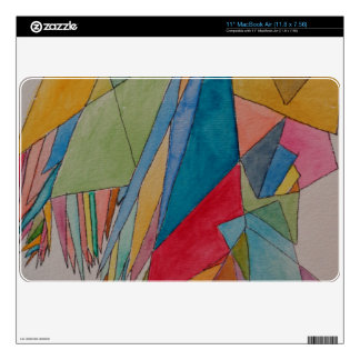 "Personalizado 11"" aire 11,8 x 7,56 piel w/design MacBook air 27,9cm skins"