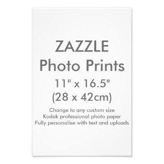"""Personalizado 11"""" de Zazzle plantilla de la Fotografía"""