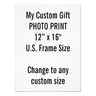 """Personalizado 12"""" × 16"""" tamaño de capítulo de los fotografías"""