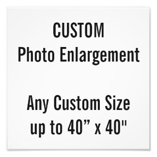"""Personalizado 12"""""""" ampliación de la foto X12 hasta Fotografía"""