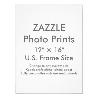 """Personalizado 12"""" de Zazzle × 16"""" tamaño de Fotografías"""