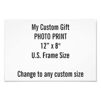 """Personalizado 12"""" x 8"""" impresión de la foto fotografías"""