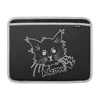 """Personalizado 13"""" del gato negro manga de MacBook Fundas MacBook"""
