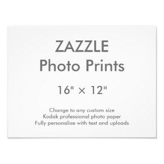 """Personalizado 16"""" de Zazzle × 12"""" impresión 40 x Fotografía"""