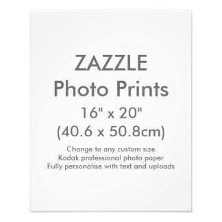 """Personalizado 16"""" de Zazzle x 20"""" plantilla de la Cojinete"""
