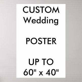 """Personalizado 16"""" del boda x 24"""" retrato BRILLANTE Póster"""