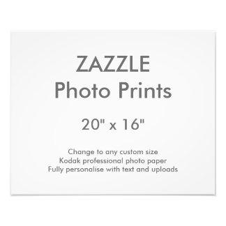 """Personalizado 20"""" de Zazzle x 16"""" impresión 50 x Cojinete"""