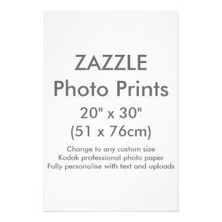 """Personalizado 20"""" de Zazzle x 30"""" plantilla de la Fotografías"""