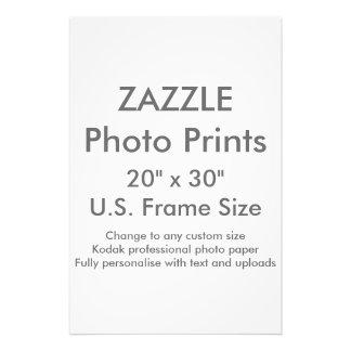 """Personalizado 20"""" x 30"""" tamaño de capítulo de los fotografías"""