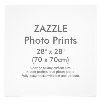"""Personalizado 28"""" de Zazzle x 28"""" plantilla de la Fotografías"""