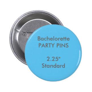 """Personalizado 2,25"""" Pin redondo estándar del"""