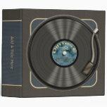 """Personalizado 2"""" del disco de vinilo del vintage"""