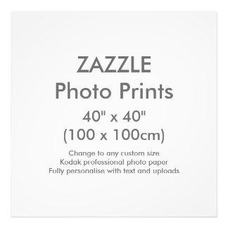 """Personalizado 40"""" de Zazzle x 40"""" plantilla de la Cojinete"""