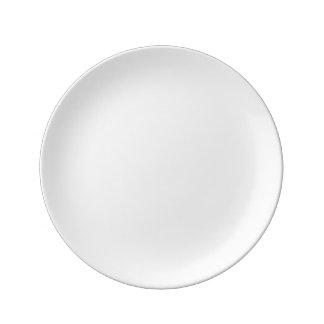 """Personalizado 8,5"""" placa decorativa de la porcelan plato de cerámica"""