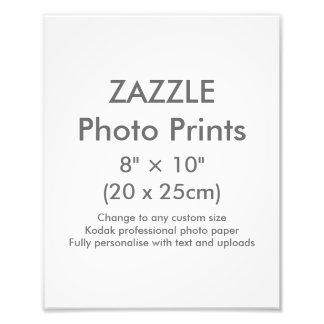 """Personalizado 8"""" de Zazzle × 10"""" plantilla de la Cojinete"""