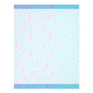 Personalizado abstracto geométrico de las rosas membretes personalizados
