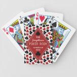 Personalizado adaptable del sitio del póker o del barajas de cartas