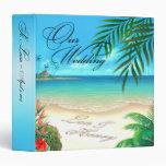 """:: PERSONALIZADO:: Álbum exótico del Hawaiian de Carpeta 1 1/2"""""""