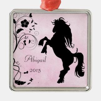 Personalizado alzando el caballo y el ornamento de ornato