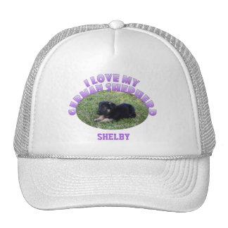 Personalizado: Amo mi gorra del pastor alemán