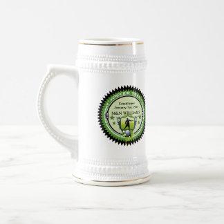 Personalizado añada su logotipo conocido del jarra de cerveza