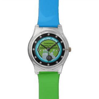 Personalizado añada su logotipo conocido del relojes