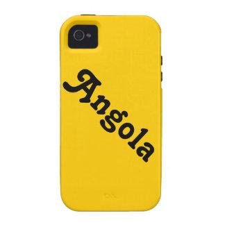 Personalizado Angola de Africankoko Case-Mate iPhone 4 Carcasas