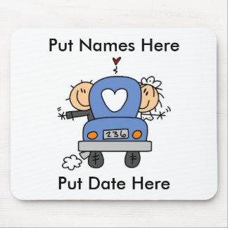 Personalizado apenas casado casando Mousepad
