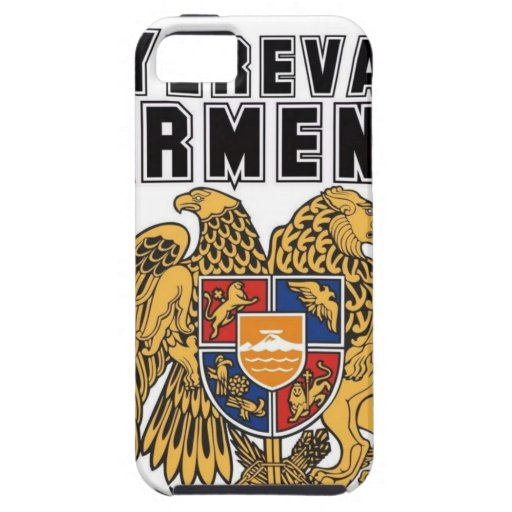 Personalizado Armenia de la capilla del representa iPhone 5 Case-Mate Protectores