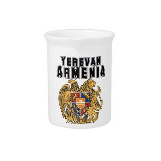 Personalizado Armenia de la capilla del representa Jarra