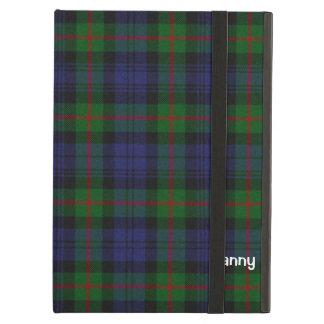 Personalizado azul, verde, y rojo de la tela escoc