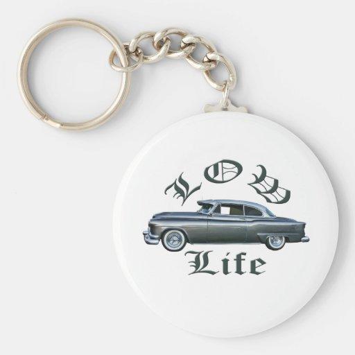 personalizado bajo de Oldsmobile de los años 50 de Llaveros