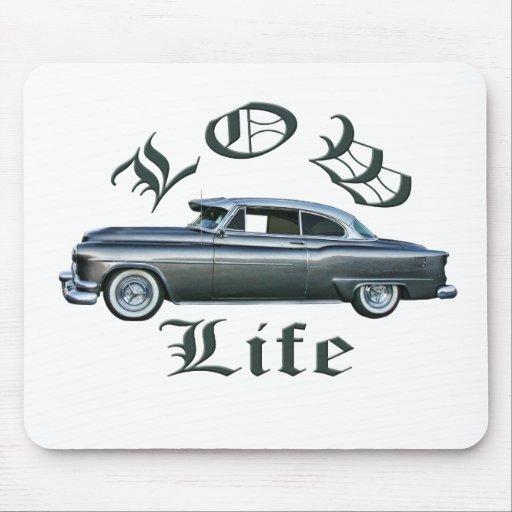 personalizado bajo de Oldsmobile de los años 50 de Tapete De Ratón
