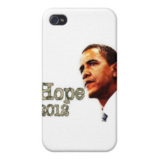 Personalizado Barack Obama de Africankoko iPhone 4 Carcasa