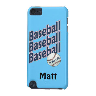 Personalizado - béisbol funda para iPod touch 5G