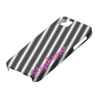 Personalizado blanco negro del caso del iPhone 5 iPhone 5 Funda