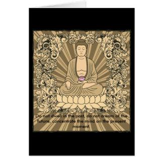 Personalizado Buda del vintage Tarjetas