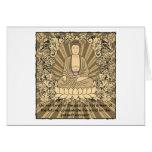 Personalizado Buda del vintage Tarjeton