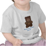 Personalizado: Camiseta rizada del oso
