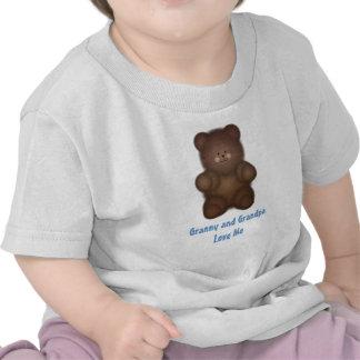 Personalizado Camiseta rizada del oso
