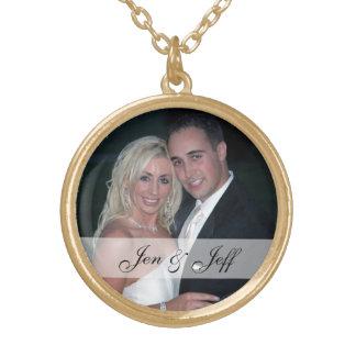 Personalizado casando el collar de la foto