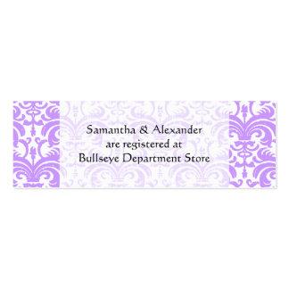 Personalizado casando el parte movible de las tarj plantillas de tarjeta de negocio