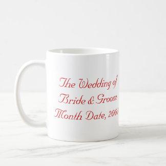 Personalizado casando la taza