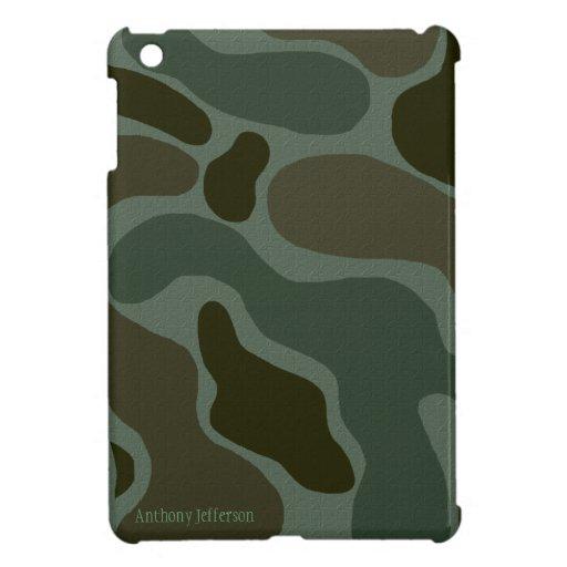 Personalizado: Caso del iPad del camuflaje mini iPad Mini Carcasas