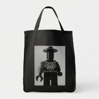 Personalizado cibernético Minifigure del soldado d Bolsa Tela Para La Compra