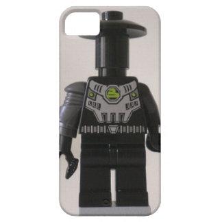 Personalizado cibernético Minifigure del soldado iPhone 5 Funda